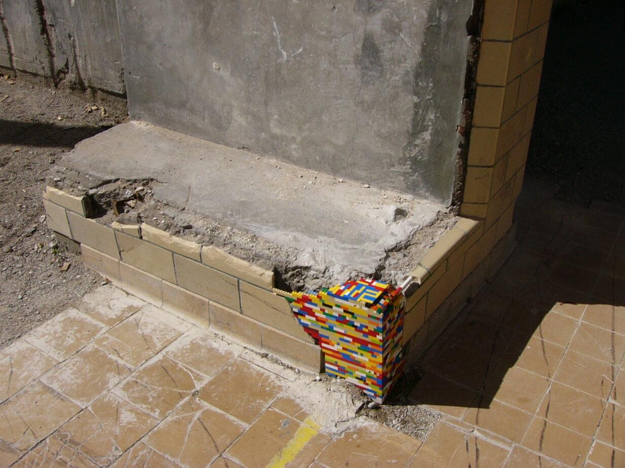 LEGO-Steine dispatchwork